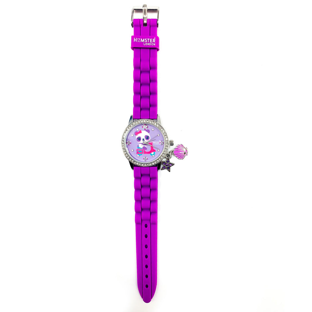 Sequence Purple Combo Watch + Pouch + Hand Bag