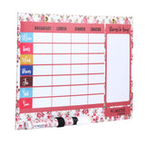 A4 Magnetic White Board Meal Planner