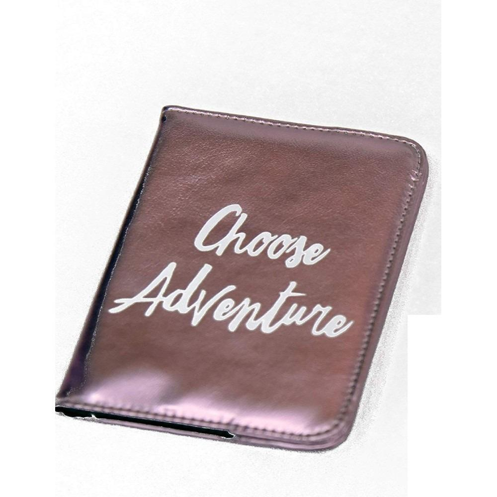 Passport Holder Wallet Dark Pink