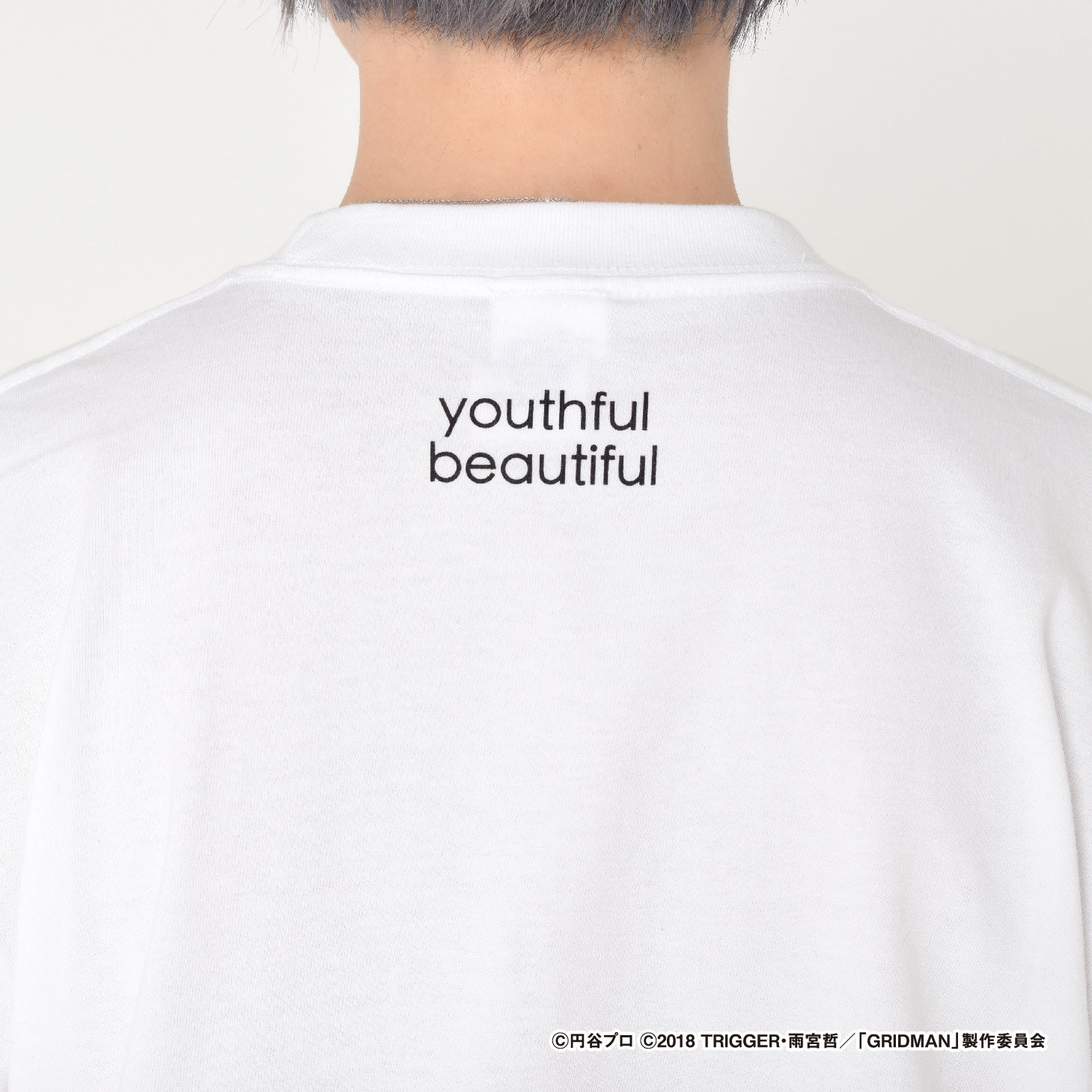 SSSS.GRIDMAN culcolle コラボアイテム Tシャツ 裏面 youthful beautiful