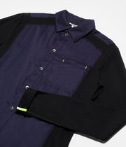Duo-Shirt TEK03+C05 Black+Navy