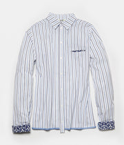 Hype-Shirt C.26+C.30 Stripes+Indigo