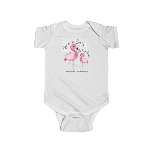 Infant Onesie ~ Flamingos