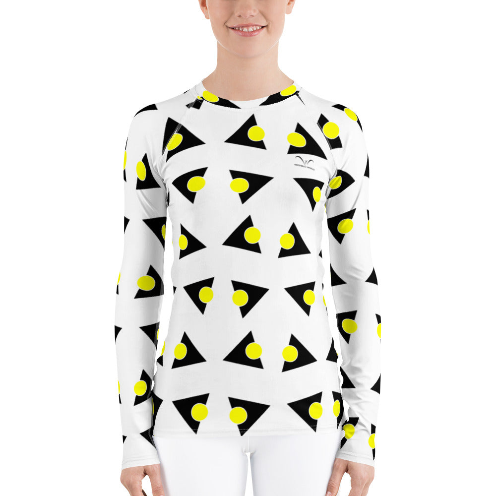 Women's Rash Guard | The Tricircle Textile - Weshalo World