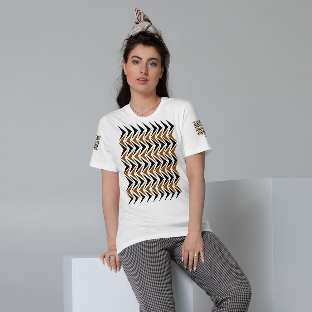 Unisex Organic Cotton T-Shirt | The Arrow Head Textile - Weshalo World