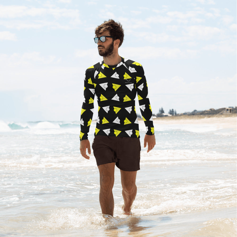 Men's Rash Guard | The Tricircle Textile - Weshalo World