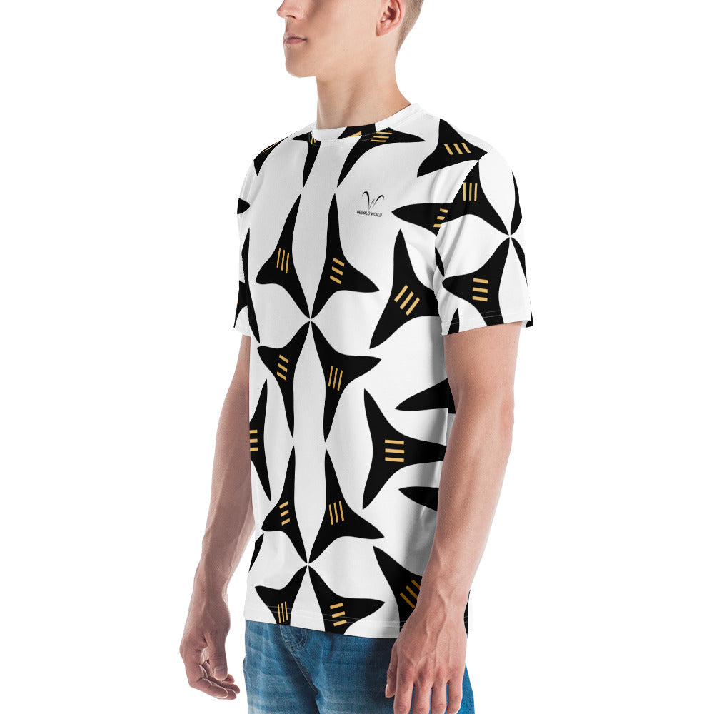 Men's T-shirt | The 3 Splitter Textile - Weshalo World