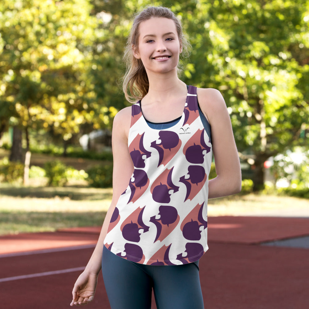 Women's Racerback Tank | The Gourd Textile - Weshalo World