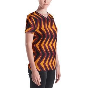 Women's V-neck | The Arrow Head Textile - Weshalo World