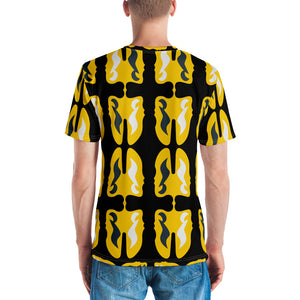 Men's T-shirt | The Music Face Note Textile - Weshalo World