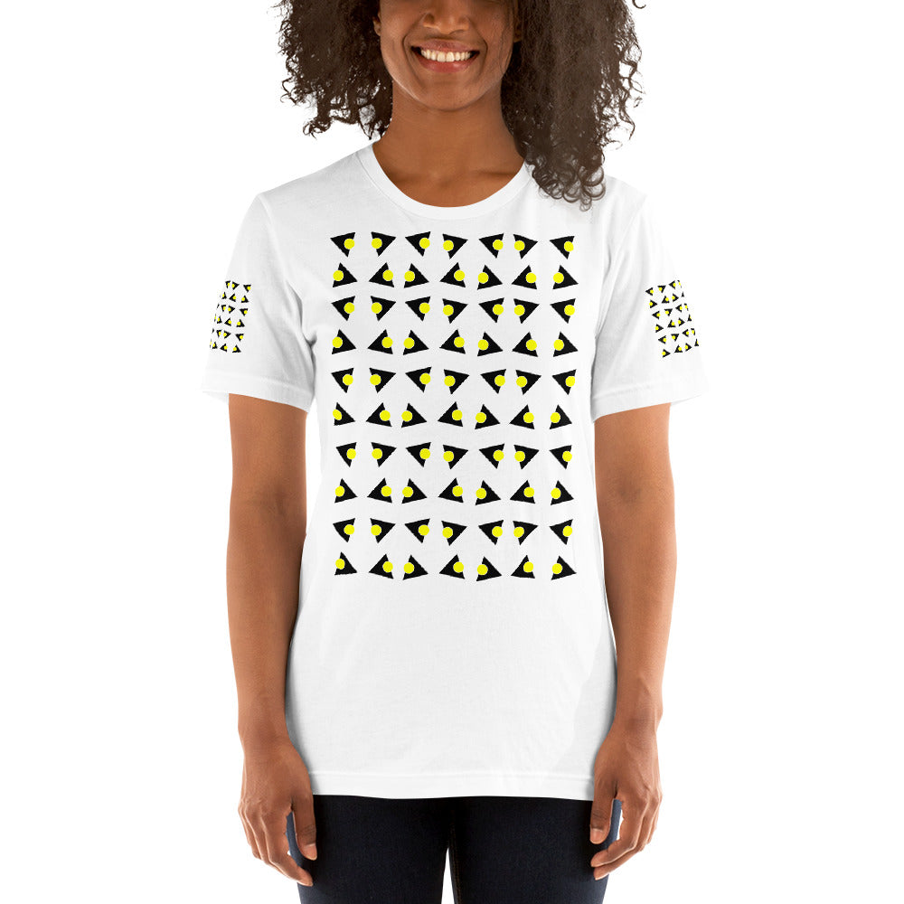 Short-Sleeve Unisex T-Shirt | The Tricircle Textile - Weshalo World