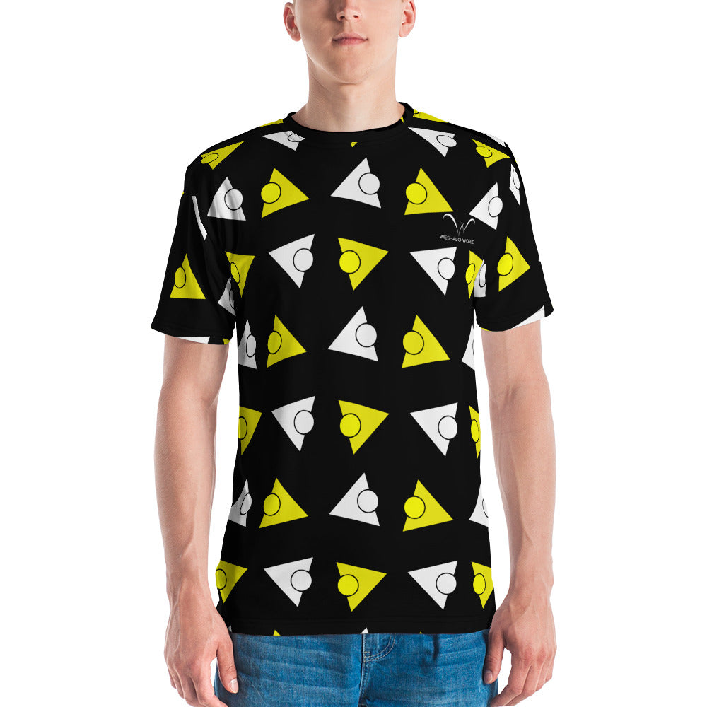 Men's T-shirt | The Tricircle Textile - Weshalo World