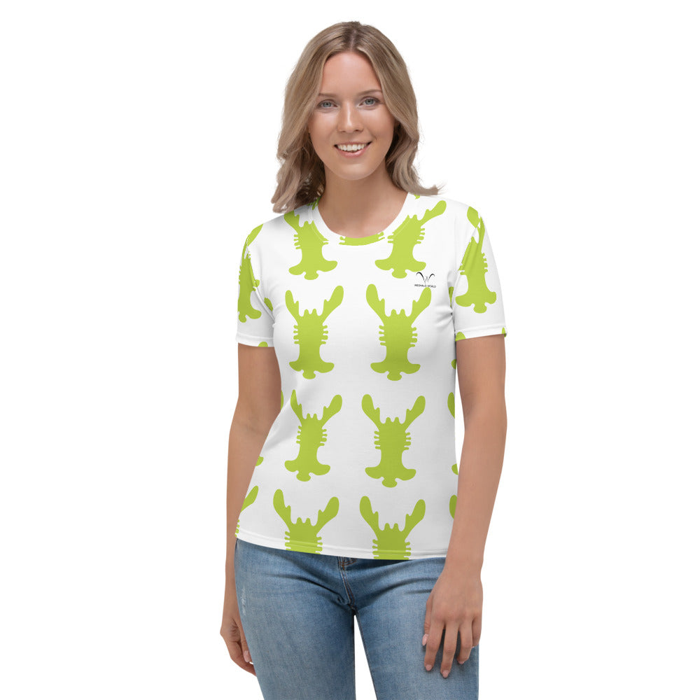 Women's T-shirt | The Rabbit Ear Textile - Weshalo World