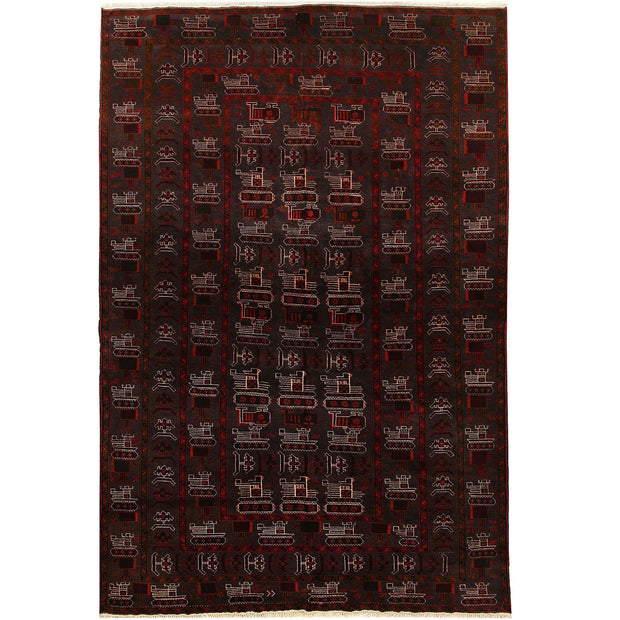 War Rug 6' 3 x 9' 5 (ft) - No. AL50427 - ALRUG Rug Store