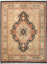 Black Kirman 8' x 10' - No. 12486 - ALRUG Rug Store