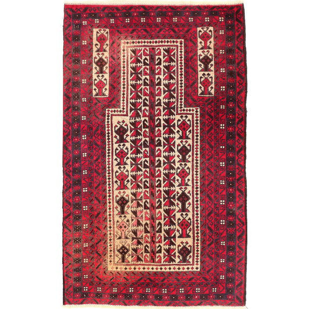 Prayer Rug 2' 6 x 4' 2 (ft) - No. AL87562 - ALRUG Rug Store