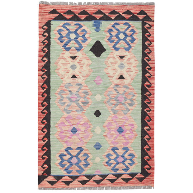 "Vegetable Kilim 3' 5""  x  4' 9"" (ft) - No. AL80918 - ALRUG Rug Store"