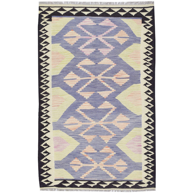 "Vegetable Kilim 3' 3""  x 5' 2""  (ft) - No. AL18302 - ALRUG Rug Store"