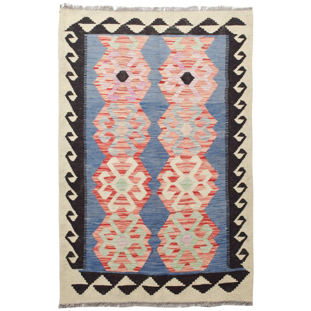"Vegetable Kilim 3' 2""  x 4' 8""  (ft) - No. AL96142 - ALRUG Rug Store"