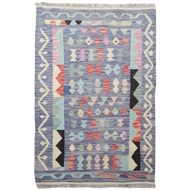 "Vegetable Kilim 3' 3""  x 4' 8""  (ft) - No. AL16810 - ALRUG Rug Store"