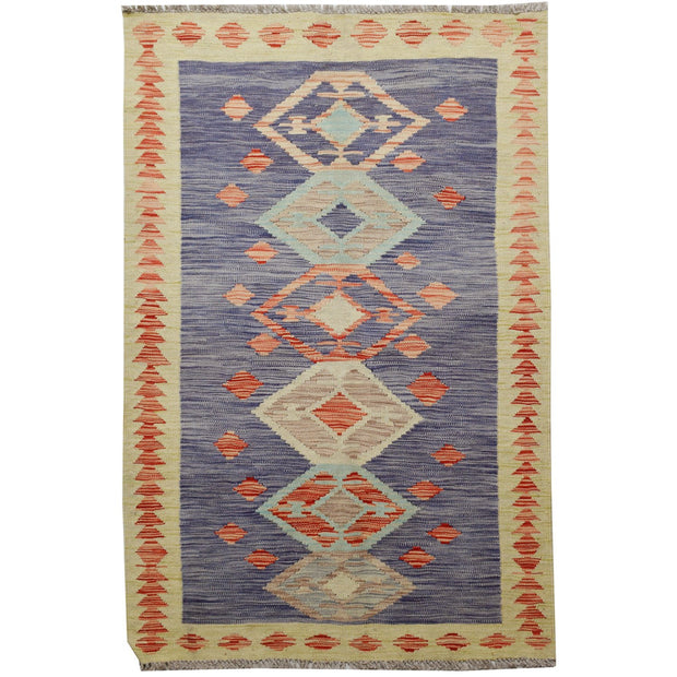 "Vegetable Kilim 3' 2""  x 5' 1""  (ft) - No. AL18321 - ALRUG Rug Store"