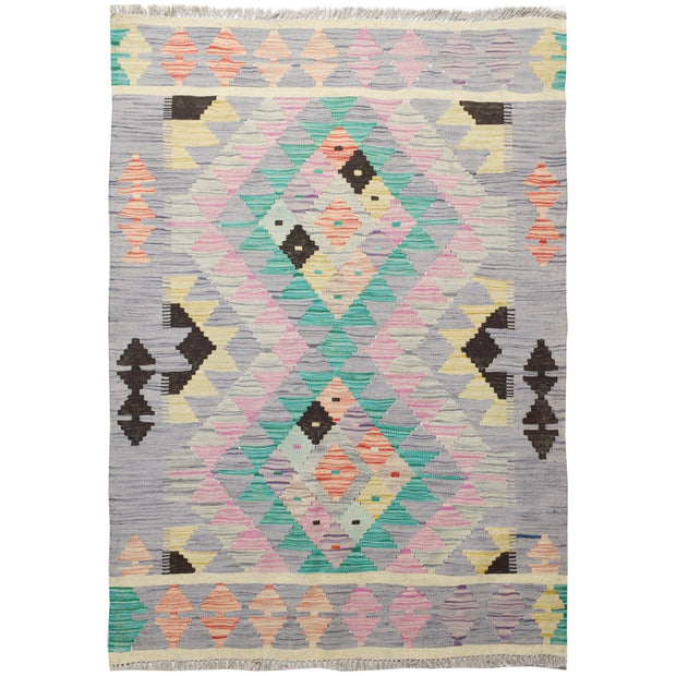 "Vegetable Kilim 3' 4""  x 4' 7""  (ft) - No. AL66013 - ALRUG Rug Store"