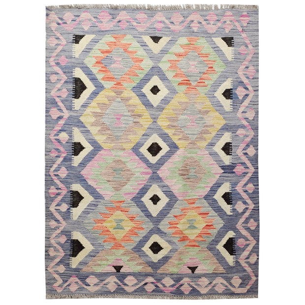 "Vegetable Kilim 3' 5""  x  4' 6""  (ft) - No. AL52016 - ALRUG Rug Store"