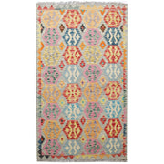 "Vegetable Kilim 3' 1""  x  5' 3""  (ft) - No. AL41299 - ALRUG Rug Store"