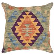 Kilim Cushion 1' 4 x 1' 5 (ft) - No. AL50322 - ALRUG Rug Store