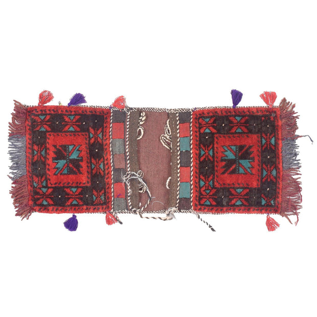 "Saddle Bag 1' x 2' 4"" (ft) - No. AL20052 - ALRUG Rug Store"