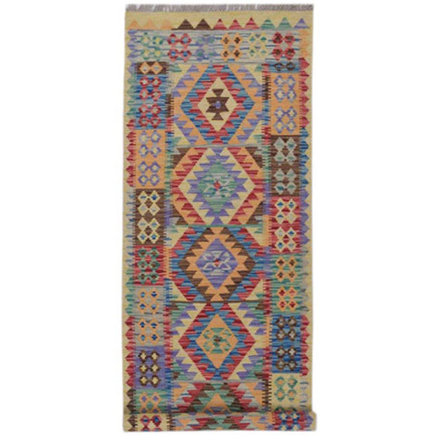 Vegetable Kilim 2' 8 x 6' 6 (ft) - No. AL62774 - ALRUG Rug Store