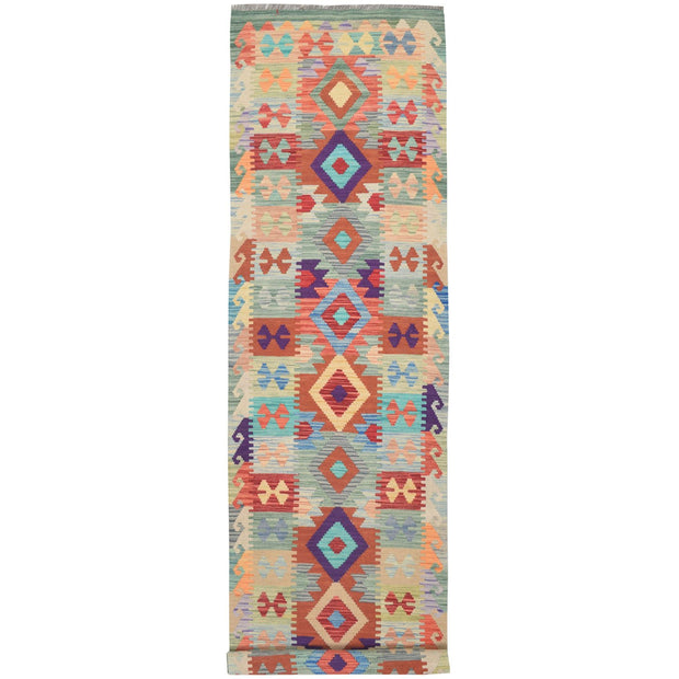 "Vegetable Kilim 2' 5""  x 9' 8"" (ft) - No. AL82639 - ALRUG Rug Store"