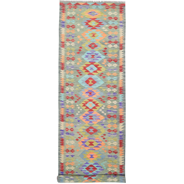 "Vegetable Kilim 2' 6""  x 9' 5"" (ft) - No. AL73266 - ALRUG Rug Store"