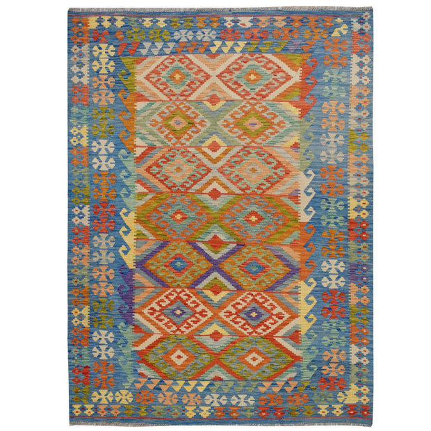 Vegetable Kilim 5' 6 x 7' 9 (ft) - No. AL47997 - ALRUG Rug Store