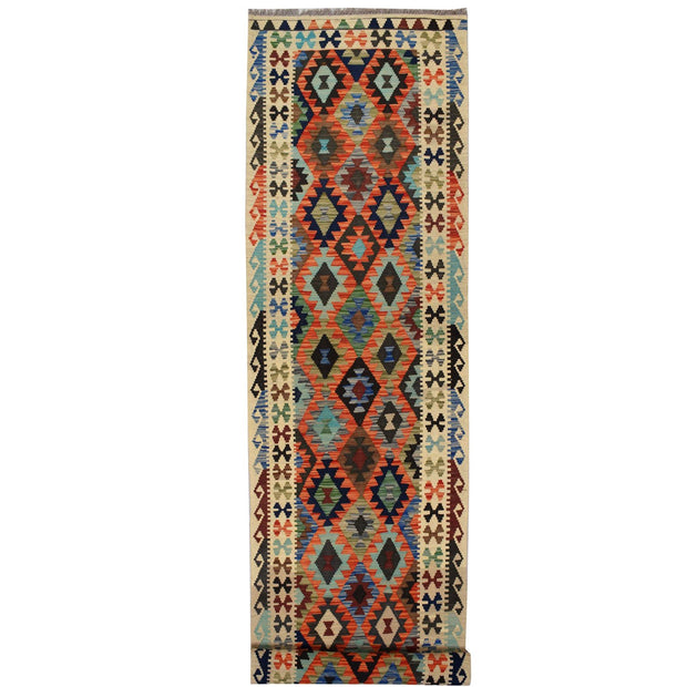 Vegetable Kilim 2' 7 x 13' (ft) - No. AL50435 - ALRUG Rug Store