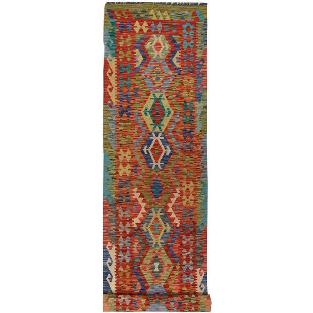 Vegetable Kilim 2' 6 x 13' (ft) - No. AL41698 - ALRUG Rug Store