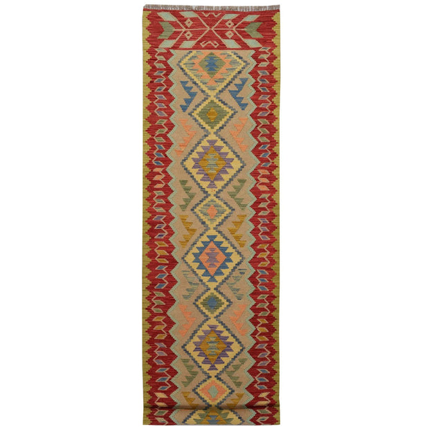 Vegetable Kilim 2' 5 x 9' 6 (ft) - No. AL86490 - ALRUG Rug Store
