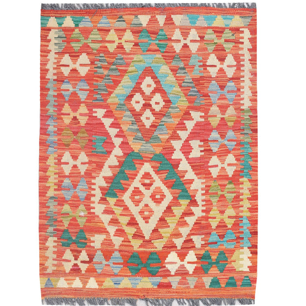 Vegetable Kilim 2' 4 x 3' 2 (ft) - No. AL53371 - ALRUG Rug Store