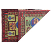 Pictorial Rug 2' 8 x 4' 1 (ft) - No. AL59576 - ALRUG Rug Store