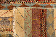 Multi Colored Gabbeh 4' 2 x 6' 1 - No. 33932 - ALRUG Rug Store