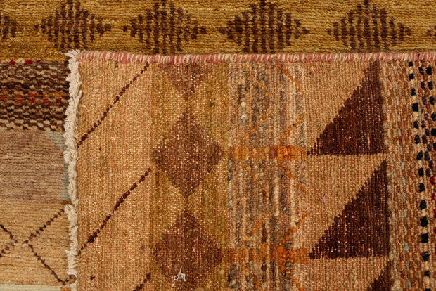 Multi Colored Gabbeh 3' 1 x 5' 3 - No. 34006 - ALRUG Rug Store