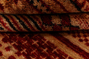 Multi Colored Gabbeh 3' 1 x 5' 1 - No. 34007 - ALRUG Rug Store