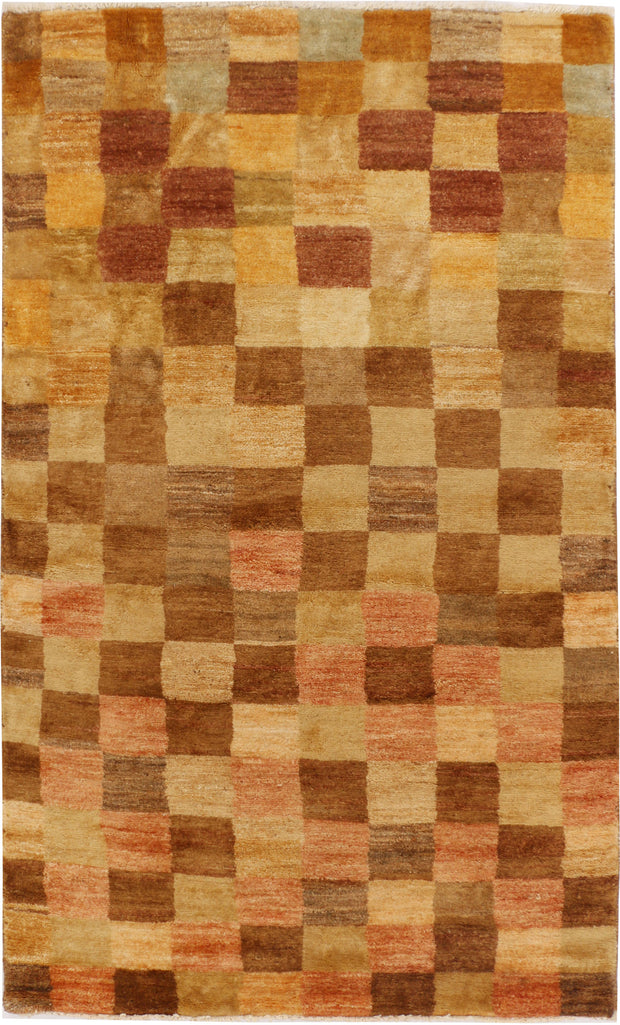 Multi Colored Gabbeh 2' 11 x 4' 11 - No. 34052 - Alrug Rug Store