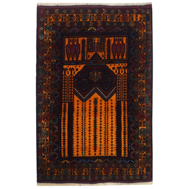 Prayer Rug 2' 9 x 4' 6 (ft) - No. AL19942 - ALRUG Rug Store