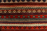 Multi Colored Gabbeh 2' 7 x 4' - No. 34143 - Alrug Rug Store