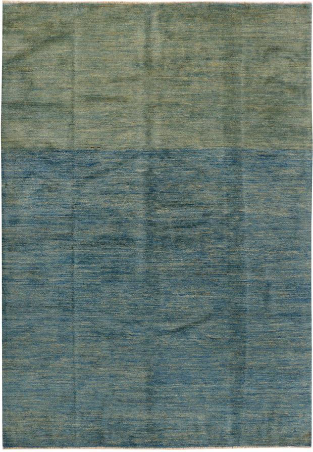Multi Colored Gabbeh 5' 7 x 8' 2 - No. 34212 - ALRUG Rug Store