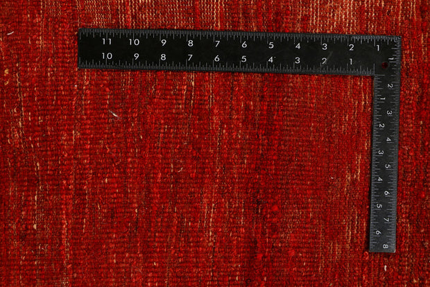 Orange Red Gabbeh 6' 6 x 6' 5 - No. 34244 - Alrug Rug Store