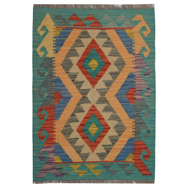 Vegetable Kilim 2' x 2' 9 (ft) - No. AL13295 - ALRUG Rug Store