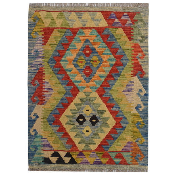Vegetable Kilim 1' 9 x 2' 5 (ft) - No. AL79854 - ALRUG Rug Store