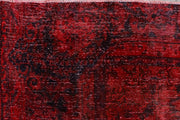 Maroon Overdyed 9' 5 x 12' 11 - No. 37498 - ALRUG Rug Store